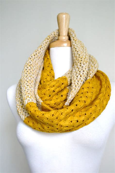 Yellow Pattern Scarf | super sale 18 00 mustard yellow chunky knitted woven