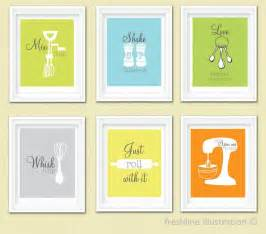 Wall Saying Stickers kitchen wall art funny mix it up just roll with it