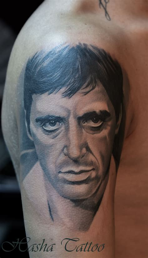 tony tattoo tony montana www hasha ro hasha