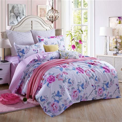 King Size Comforters On Sale by On Sale 2016 4pcs Flowers 100 Cotton Bedding Sets Bedding Set King Size Bed Sheet Duvet