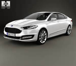 ford mondeo fusion vignale 2015 3d model humster3d
