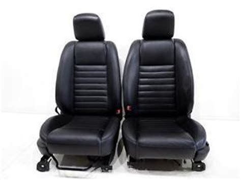 oem mustang seats replacement seats ford mustang 2005 2009