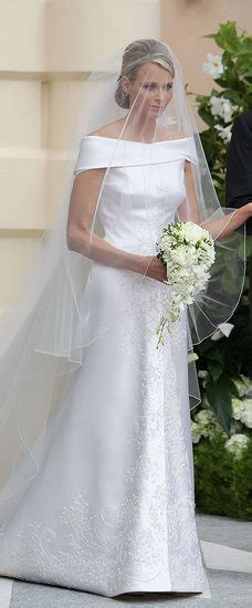 hochzeitskleid charlene von monaco princess charlene wedding dress