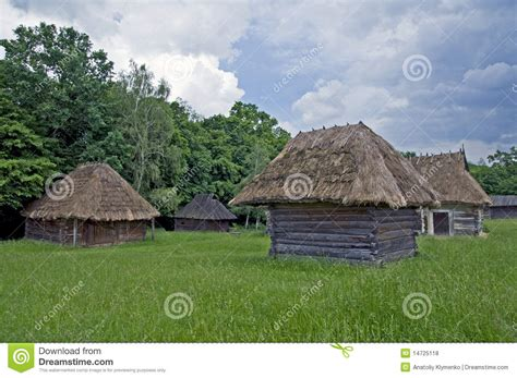Small Homes Rural Small Wooden Rural Houses Royalty Free Stock Photos