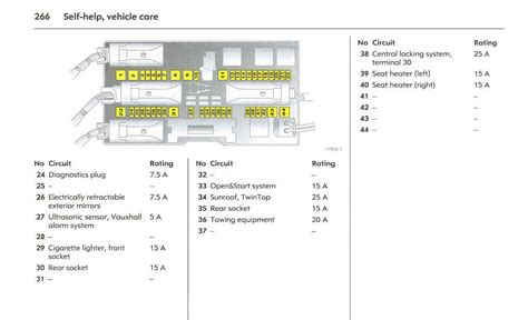 astra j rear fuse box astra automotive wiring diagram