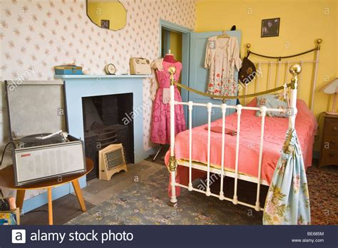 1950s bedroom 1950 s teenage girls bedroom stock photo royalty free