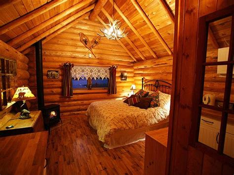 cabin bedroom romantic log cabins inside log cabin fireplaces cozy log