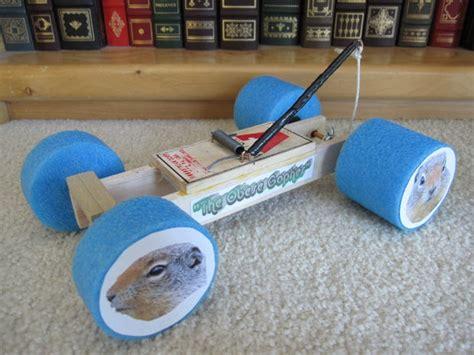 Mousetrap car racer 8 steps
