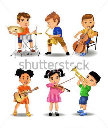 imagenes de niños jugando con instrumentos musicales ni 241 os tocando instrumentos im 225 genes predise 241 adas clip