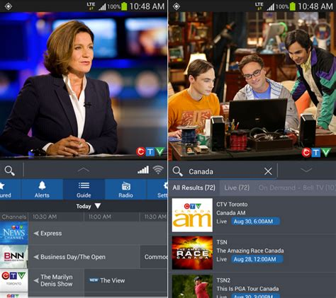 mobile tv app for android bell mobile tv app for android updated to support nexus 4 and nexus 5 mobilesyrup