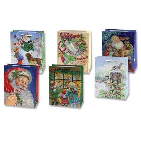 wholesale matte designer christmas gift bag collection 6