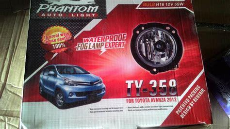 Lu Kabut New Avanza jual harga phantom auto light fogl lu kabut
