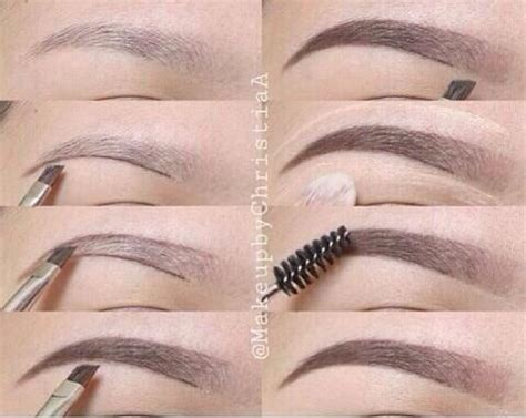 proper way to fill in eyebrows how to fill in your eyebrows beauty tips pinterest