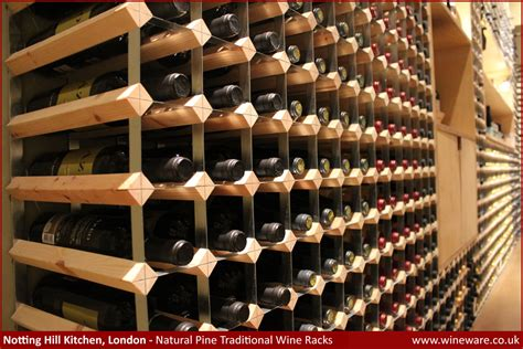Wine Rack Opening Size by Bespoke Traditional Wine Racks Made To Order Wineware