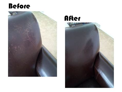 how to repair scratched leather sofa mash up chic way to go e v o o