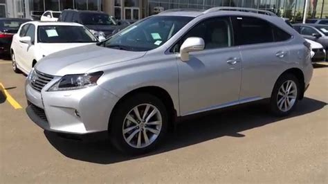light grey lexus 2015 lexus rx 350 awd sportdesign edition review silver