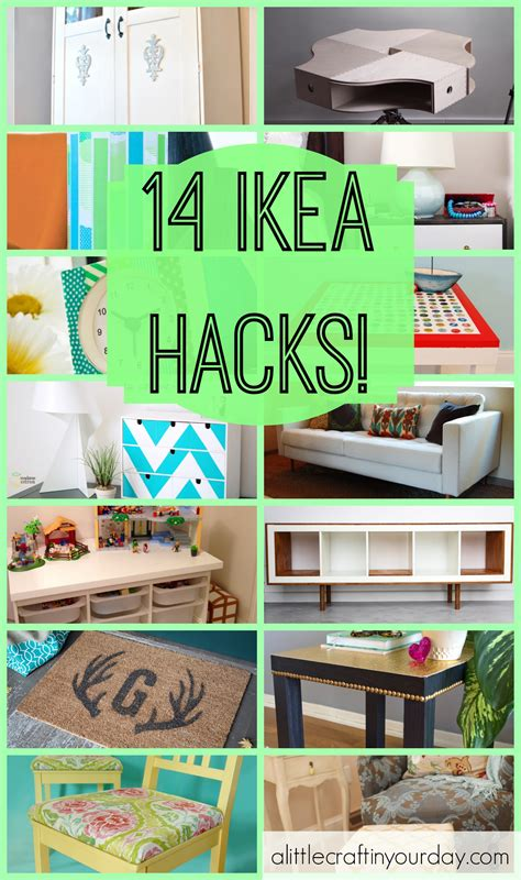 ikea life hacks 14 ikea hacks a little craft in your day