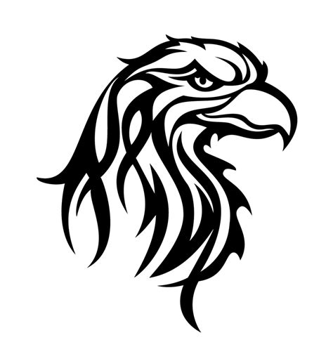 tribal eagle head tattoo tribal eagle tattoos kartal d 246 vmeleri eagle tattoos t