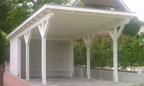 bausatz carport flachdach carports holzgaragen als individueller bausatz