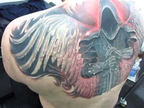 Angel Tattoo Youtube | guardian angel deadi tattoo youtube