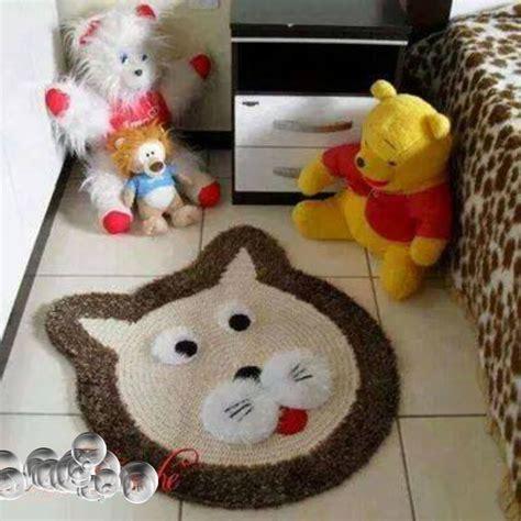 alfombra oso crochet alfombra oso tejida para cuarto bebes alfombras pinterest