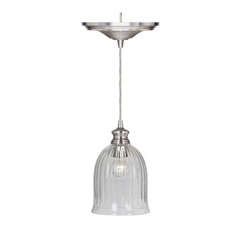 home decorators collection pendant lights home decorators collection marissa 1 light brushed nickel