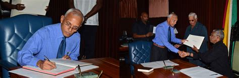 Guyana Cabinet by Pm Several Cabinet Members Sworn In Guyana Chronicle