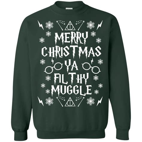 Sweater Muggle harry potter ya filthy muggle sweater for