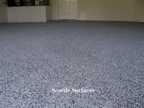 Polyaspartic Garage Floor w/ Color Flakes.   Yelp