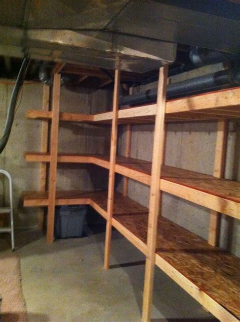 17 best ideas about basement storage on