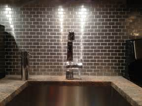 Kitchen Backsplash Stainless Steel Tiles by Go Stainless Steel With Your Backsplash Subway Tile Outlet