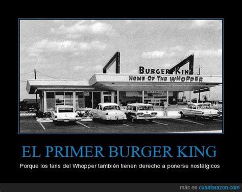 cunta razn as fue el primer encuentro entre el 161 cu 225 nta raz 243 n el primer burger king