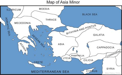 asia minor map outline map of asia minor