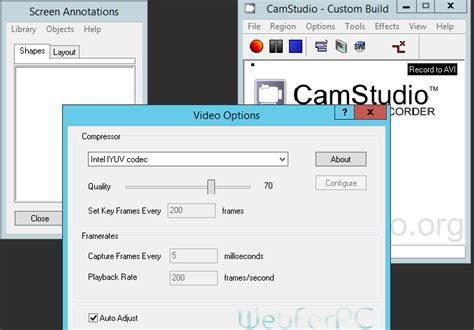 web recording software free camstudio free screen recording web for pc