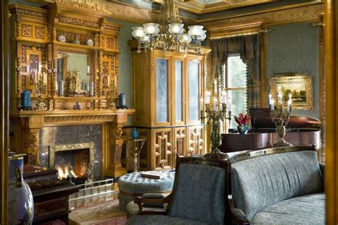 brownstone traditional living room  york  david scott parker architects llc