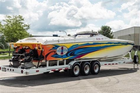 cigarette boat for sale usa cigarette speed boat 2003 for sale for 139 800 boats
