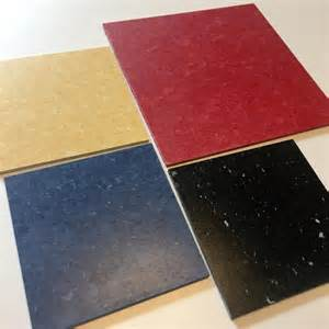 mannington progressions vinyl composition tile the red yellow blue and black are retro