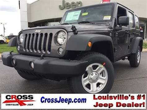 Louisville Jeep Dealers Jeep Wrangler For Sale Carsforsale