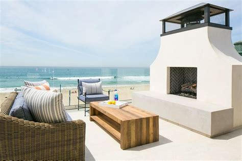 Ideas For Headboards by Stucco Outdoor Fireplace Cottage Deck Patio