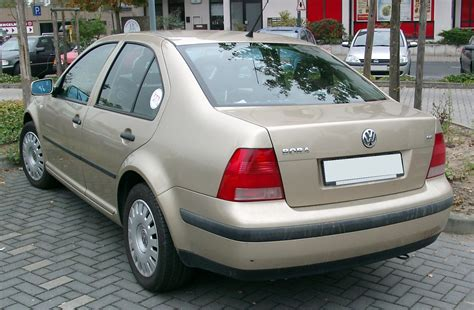 volkswagen bora file vw bora rear 20071012 jpg wikimedia commons