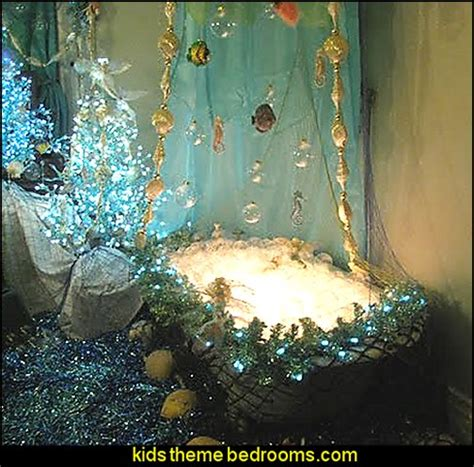mermaid bathroom theme house decor ideas