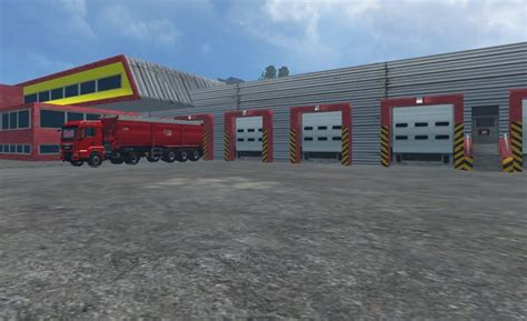 Warehouse Ls by Logistics Center V 1 0 For Fs 15 Farming Simulator 2015