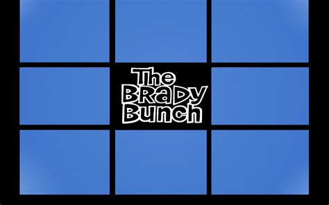 brady bunch template the brady bunch arrives on the iphone sort of