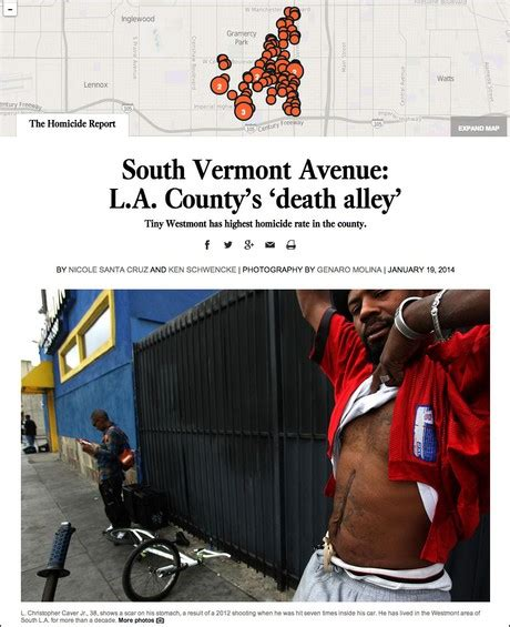 westmont the homicide report los angeles times how homicide report tells the true story of la s violent