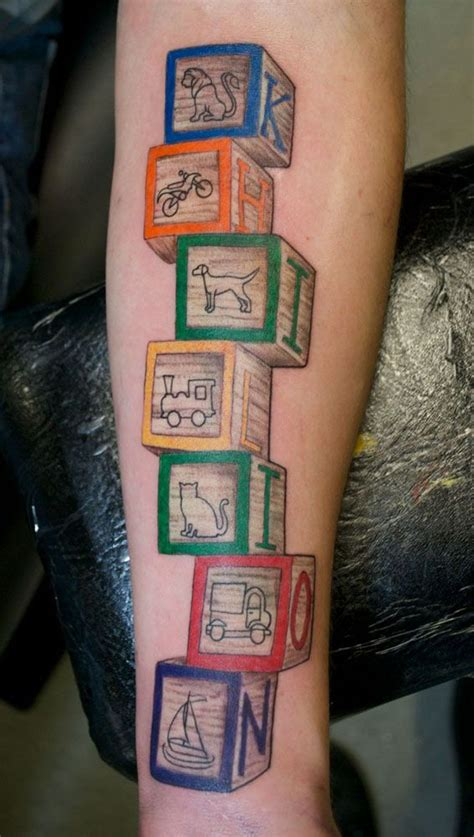 baby blocks tattoo designs 38 best thought board images on