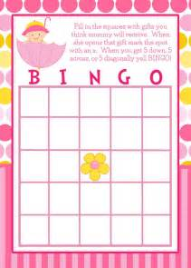 24 personalized bingo cards baby by