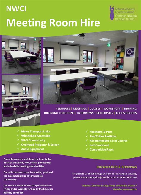 hotel meeting room rental nwci meeting room hire 187 news 187 the national s council of ireland