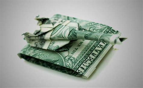 Origami Folding Money - money origami 20 pics curious photos pictures