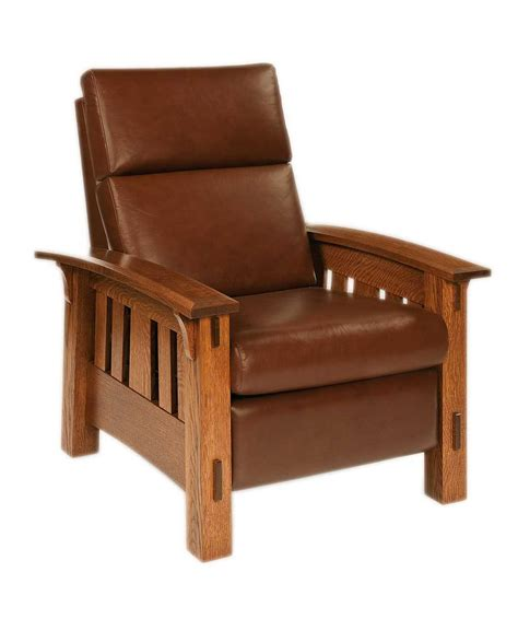 tables for recliners mccoy recliner amish direct furniture