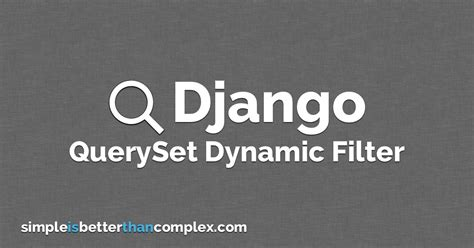 django localization tutorial how to filter querysets dynamically